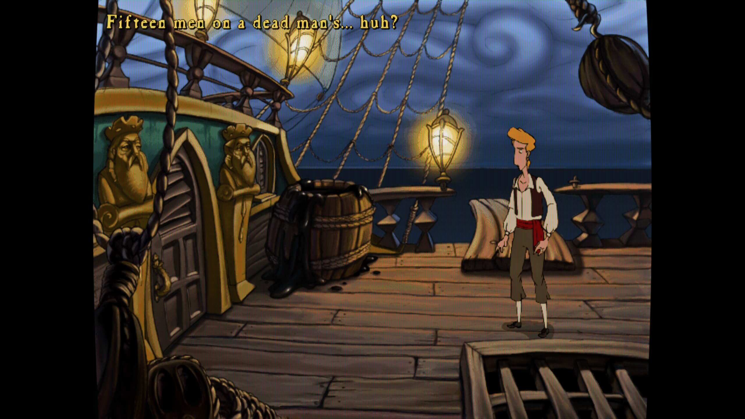 Curse of Monkey Island - Lottes CRT Filter